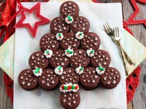 Ricetta Albero di Natale di pan di stelle