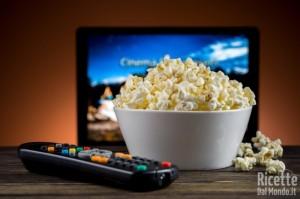 5 cibi da sgranocchiare davanti la tv