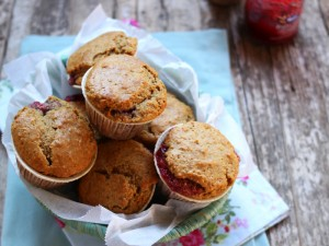 Ricetta Muffin integrali ai frutti rossi