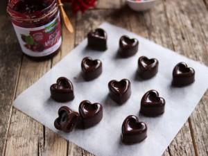 Ricetta Cioccolatini fondenti alla ciliegia