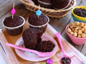 Muffin vegani cioccolato e nocciole