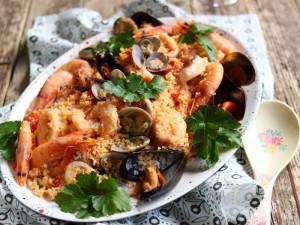 Ricetta Cous cous ai frutti di mare