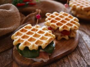 Ricetta Waffle salati