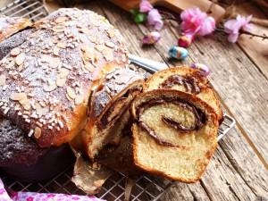 Colomba di pan brioche