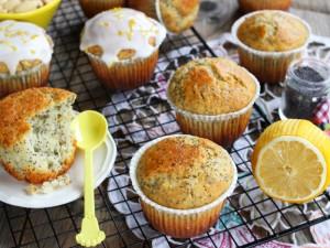 Ricetta Muffin al limone e semi di papavero