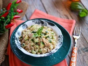 Ricetta Cous cous con zucchine e tonno