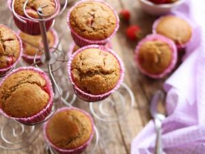Ricetta Muffin alle fragole integrali