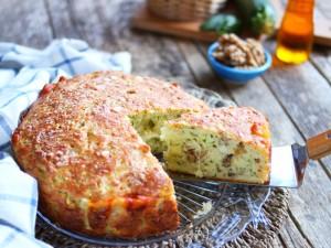 Torta 7 vasetti con le zucchine
