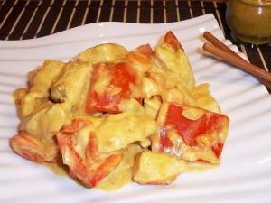 Ricetta Pollo al curry con i peperoni